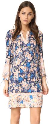Rebecca Taylor Long Sleeve Gigi Floral Dress $495 thestylecure.com
