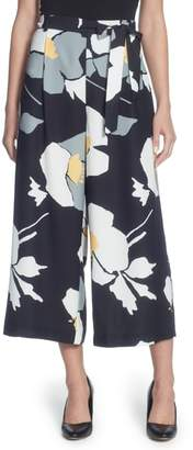 Catherine Malandrino Carver Floral Crop Pants