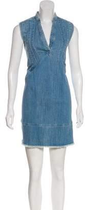 Current/Elliott Mini Denim Dress
