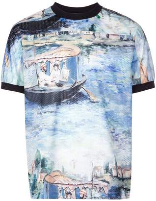 Off-White painting print T-shirt