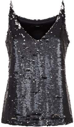 J Brand Lucy Sequin Embellished Camisole