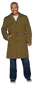 London Fog Men's Water Resistant Trench Coat