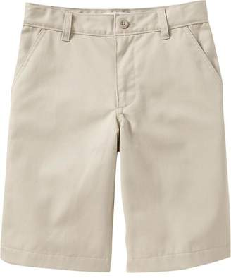 Old Navy Flat-Front Uniform Shorts for Boys