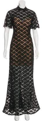 Jovani Guipure Lace Gown