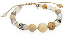 Chan Luu Women's Mixed African Opal Cord Bracelet