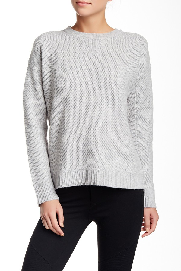 VINCE. Crew Neck Wool Blend Sweater 3
