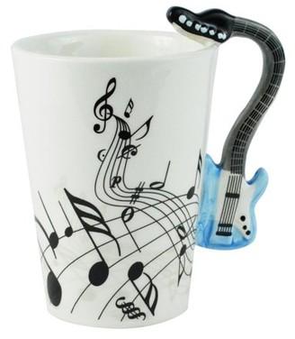 Fairly Odd Novelties Blue Electric Guitar Coffee Mug