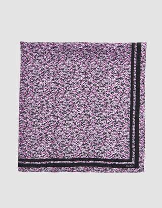 Just Female Silk Scarf in Jesse Purple