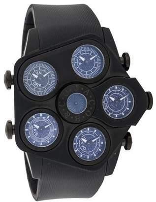 Jacob & co Jumbo Grand Five Timezone Watch