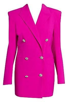 ATTICO Women's Double-Breasted Blazer Dress