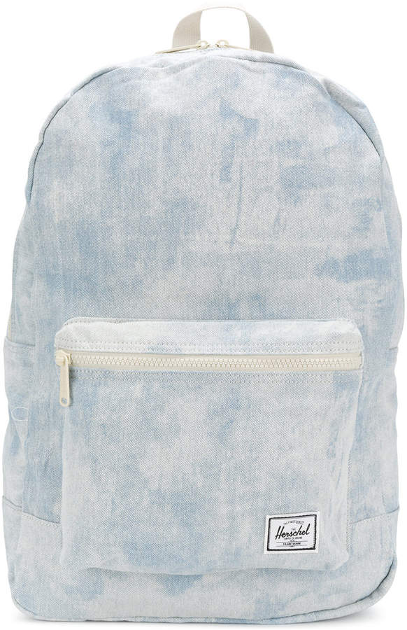 bleached effect backpack