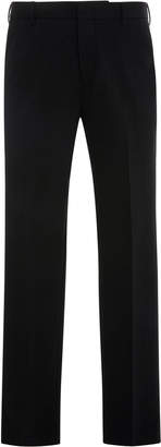 Prada Slim-Fit Wool-Blend Trousers