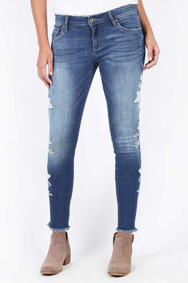 KUT from the Kloth Connie Embroidered Skinny