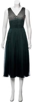Burberry Ombré Sleeveless Dress w/ Tags