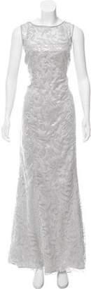 Lauren Ralph Lauren Sequined Evening Dress