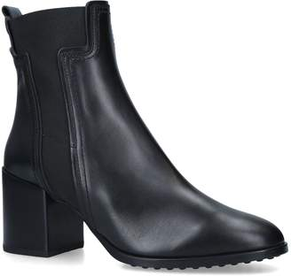 J.P Tods Leather Ankle Boots 70