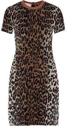 Stella McCartney Jacquard-Knit Mini Dress