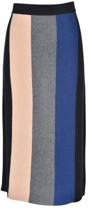 junee Banded Colored Skirt