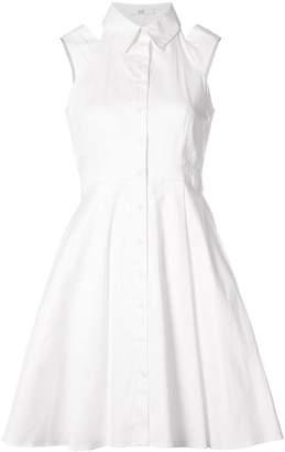 Zac Posen Isobel dress with cutout shoulders