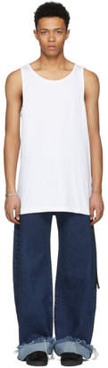 D by D White Back Thorn Tank Top