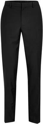 Topman Black Skinny Fit Suit Trousers