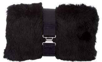 Theory Fur Zahara Clutch