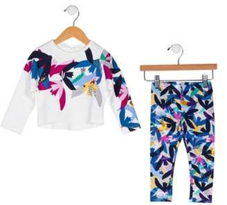 Catimini Girls' Two-Piece Set w/ Tags white Girls' Two-Piece Set w/ Tags