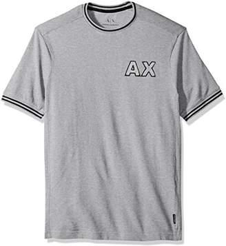 Armani Exchange A|X Men's Crew Neck Varsity Inspired Tee