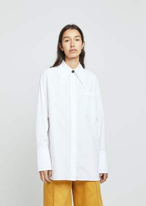 Marni Pointed Collar Button Down Shirt