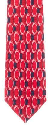 Gucci Silk Printed Tie