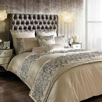 Kylie Minogue KYLIE at home - Silver 200 Thread Count 'Petra' Sequin Duvet Cover