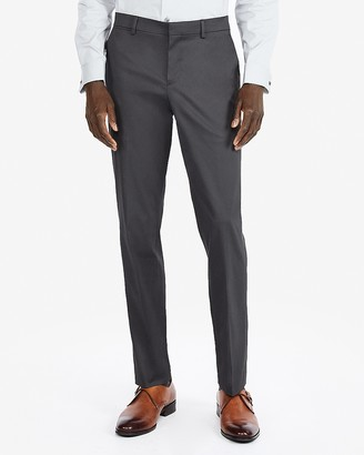 Express Slim Performance Stretch Easy Care Cotton Dress Pant