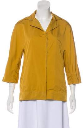 Marni Button-Up Short Sleeve Jacket