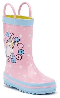 Laura Ashley Unicorn Waterproof Rain Boot (Toddler & Little Kid)