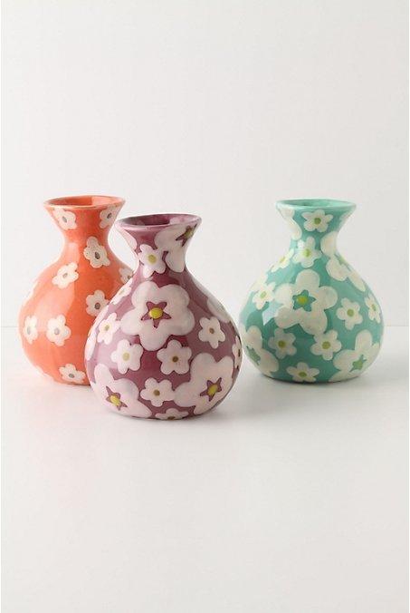 Petal-Illuminated Bud Vase