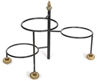 Mackenzie Childs Courtly Check Serving Stand