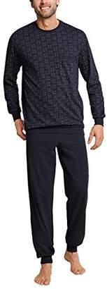 Schiesser Men's Anzug Lang Pyjama Sets,(Size: 054)