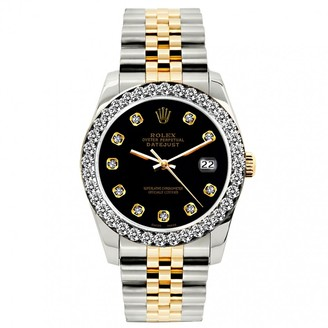 Rolex Lady DateJust 26mm Black gold and steel Watches