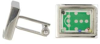 LINK UP Base Metal Billiards Table Cuff Links