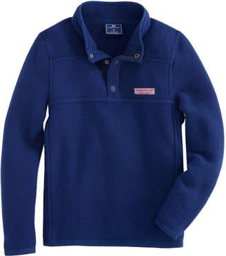Vineyard Vines Boys Snap Placket Fleece Shep Shirt