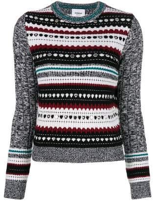 Dondup patterned knit jumper