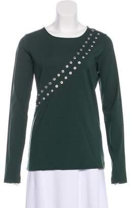 Altuzarra Embellished Long Sleeve Top