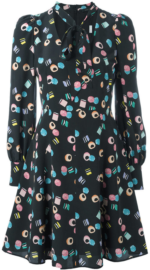 Marc JacobsMarc Jacobs licorice print dress
