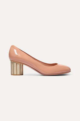 Salvatore Ferragamo Lucca Patent-leather Pumps