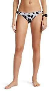 Mikoh Women's Valencia Leopard-Print Bikini Bottom - Neutral