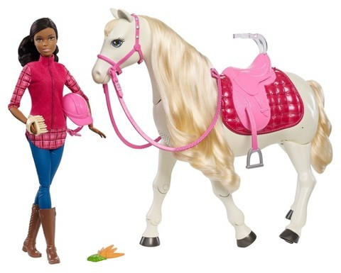 Barbie Barbie Dreamhorse and African-American Doll
