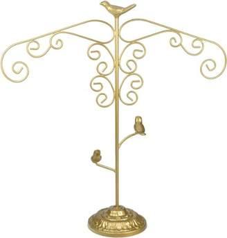 Boutique Matte Gold Bird Large Jewellery Hanger