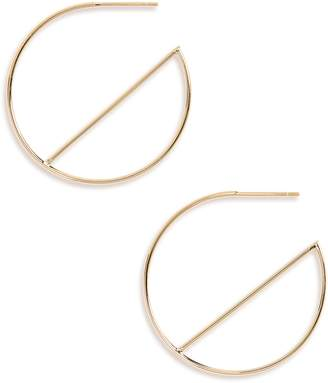 Lana Wire Eclipse Hoops