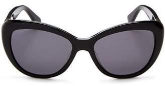 Kate Spade Women's Emmalyn Polarized Cat Eye Sunglasses, 54mm