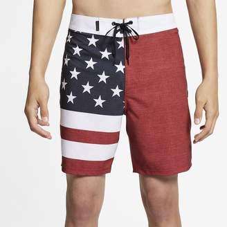 "Nike Men's 18"" Board Shorts Hurley Phantom Patriot"